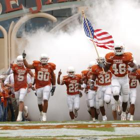 Longhorn football takes the field
